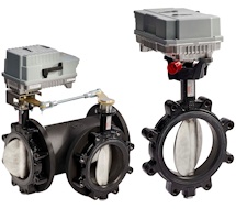 Honeywell High Performance Butterfly Valves VR-VH Series